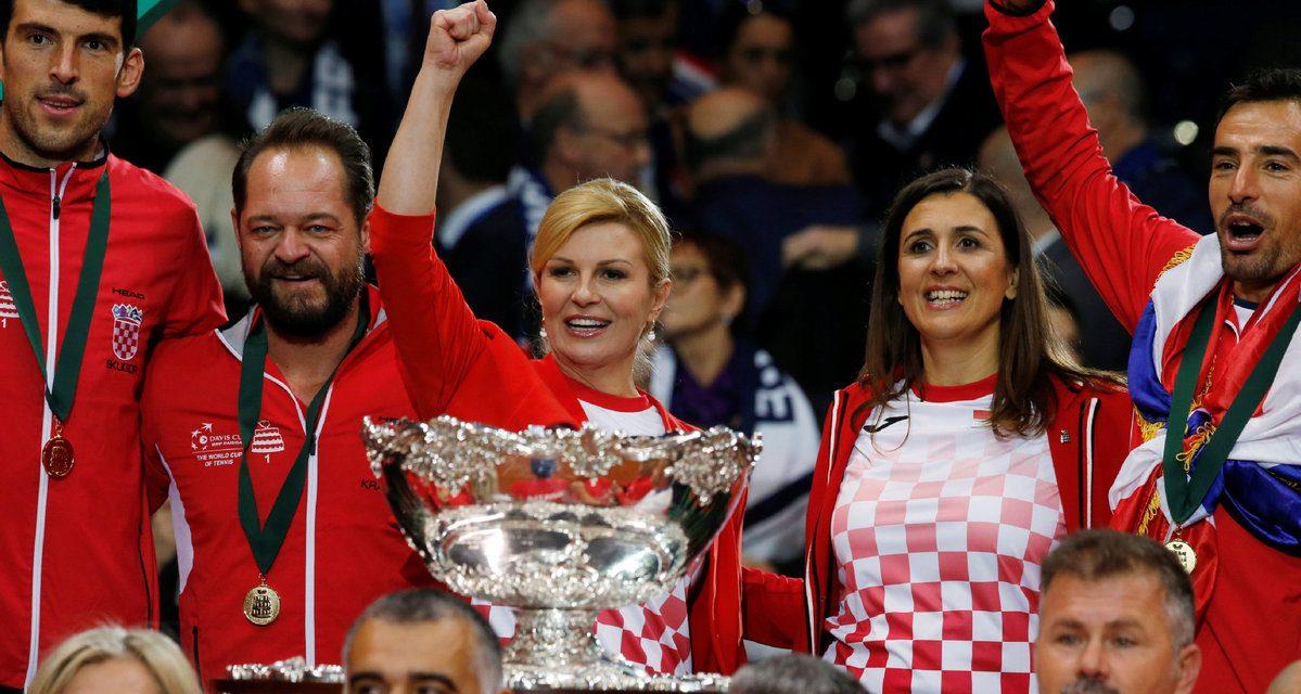 Kolinda osvojila Davis Cup!