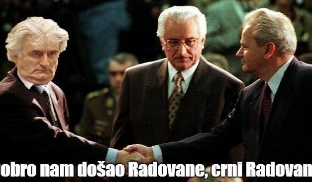 Karadžić skupa sa Miloševićem i Tuđmanom!