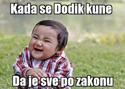 Dodik se kune