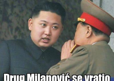 Kim Jong Un i Milanović