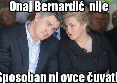 Milanović o Bernardiću