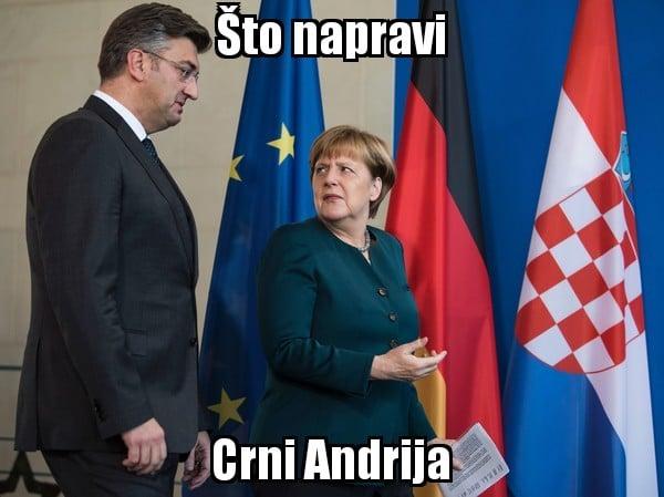 Angela Merkel u posjeti Plenkoviću