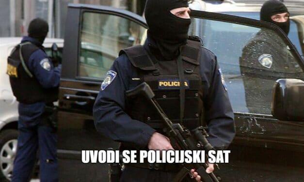 Uvodi se policijski sat