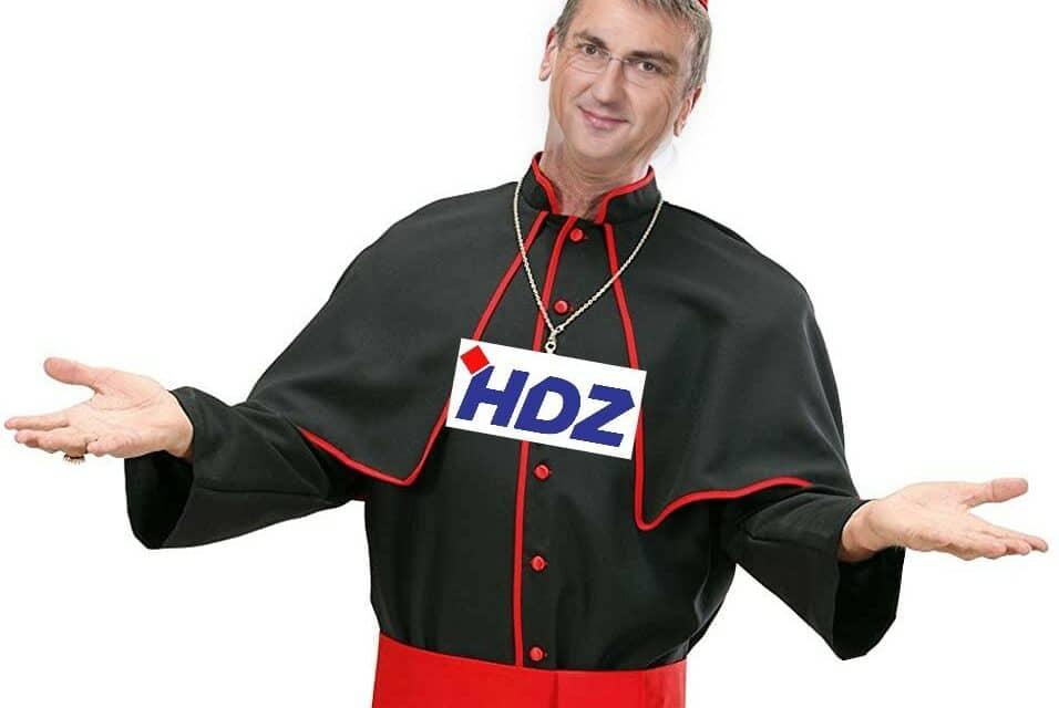HDZ osniva svoju Crkvu u Hrvatskoj